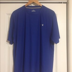 Under Armour Royal blue shirt sleeve tee